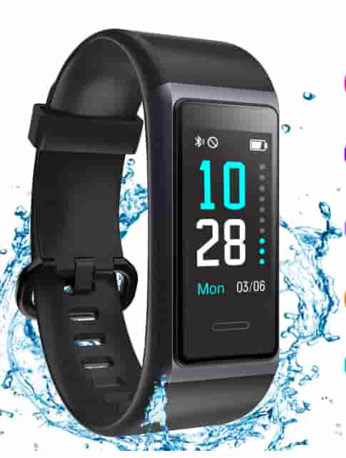 MuziLi Fitness Band Activity Tracker Smartwatch
