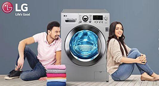 LG 7 kg Inverter Fully-Automatic Front Loading Washing Machine (FH2G6HDNL42)