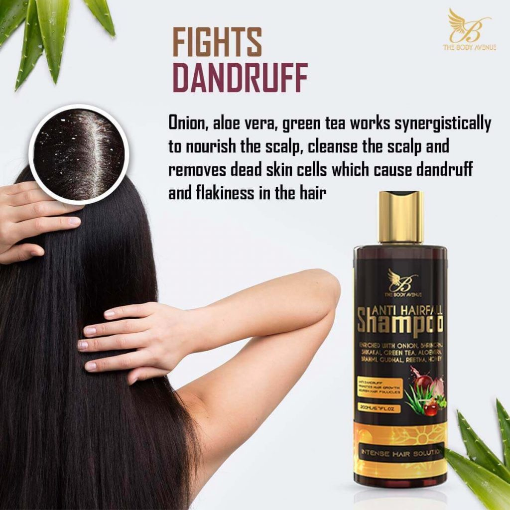 The Body Avenue Anti Hair Fall Shampoo