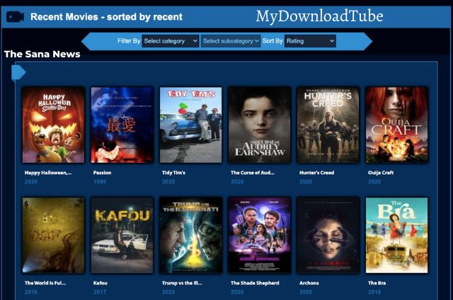 How Can You Reach And Access Movies From MyDounloadTube Website?