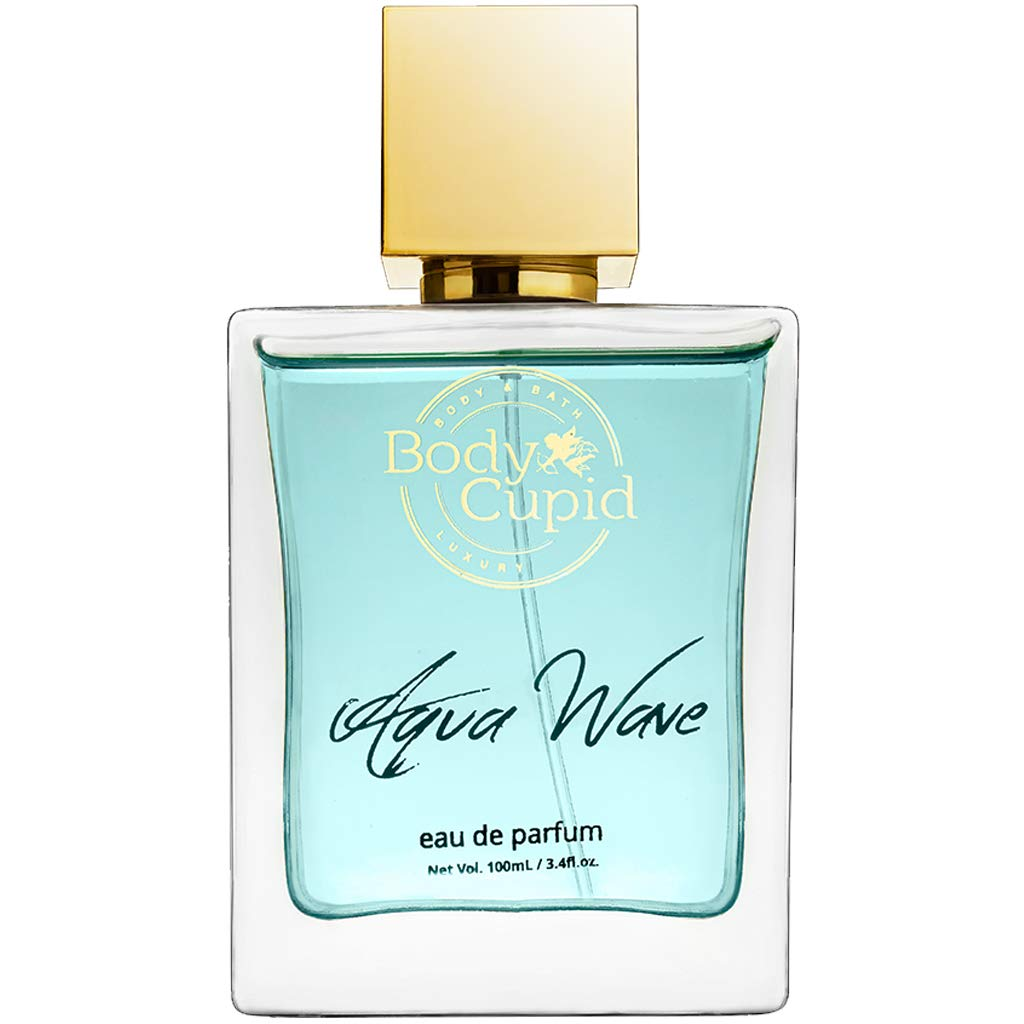 Body Cupid Aqua Wave Perfume for Men & Women - Eau De Perfume Unisex - 100 mL
