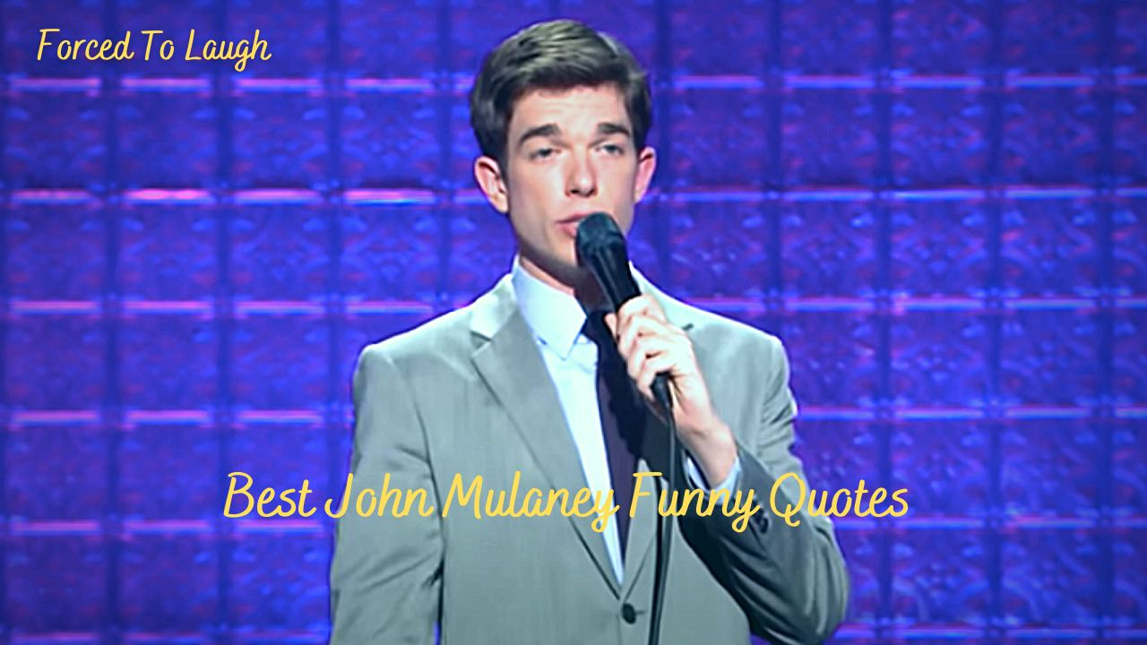 john Mulaney Funny Quotes featured image
